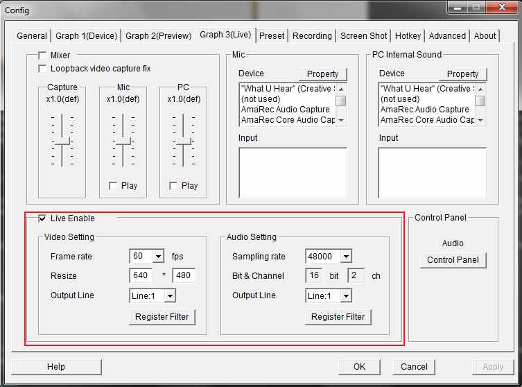 Dazzle/OBS Audio Problem
